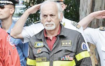 Silvano Paperini lascia il comando dei Vigili del fuoco