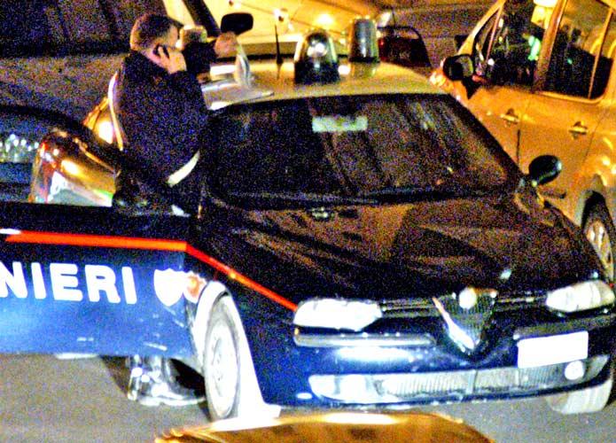 Capodanno, controlli straordinari dei Carabinieri