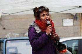 Rifondazione porta in piazza la candidata Silvia Pezzella