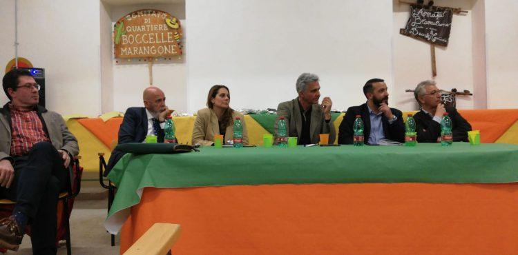 Comitato Boccelle Marangone: candidati sindaci a confronto