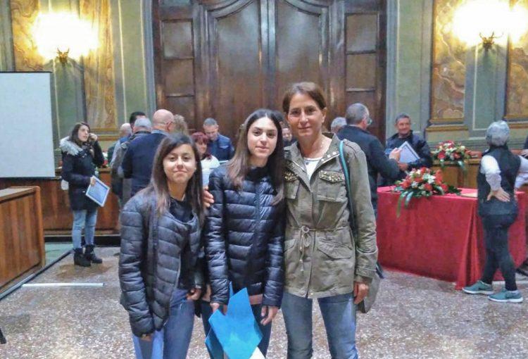 Premiate ad Albano Laziale Serena Lautizi e Veronica Lombardi
