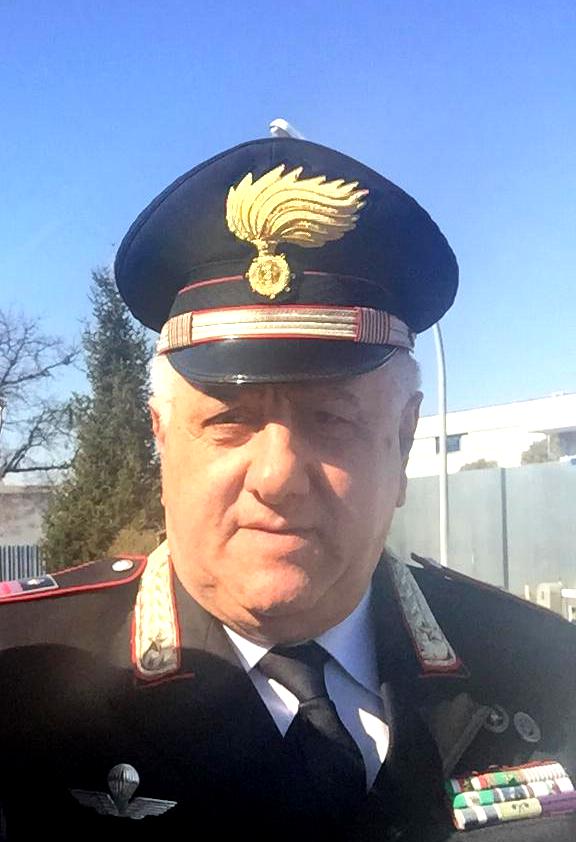Montalto, il luogotenente Zampone va in pensione
