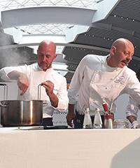 In aeroporto un cooking show stellato per celebrare Leonardo da Vinci