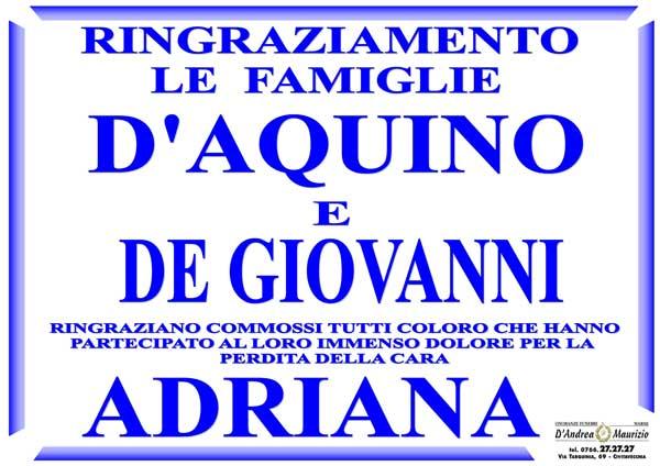 ADRIANA D'AQUINO