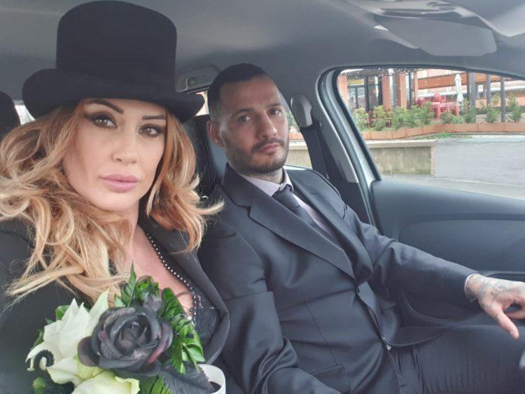 Tarquinia, matrimonio ''vip'' tra la ex miss Tamara Bendotti e il pugile Andrea Di Luisa