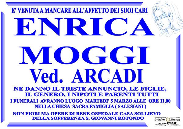 ENRICA MOGGI Ved. ARCADI