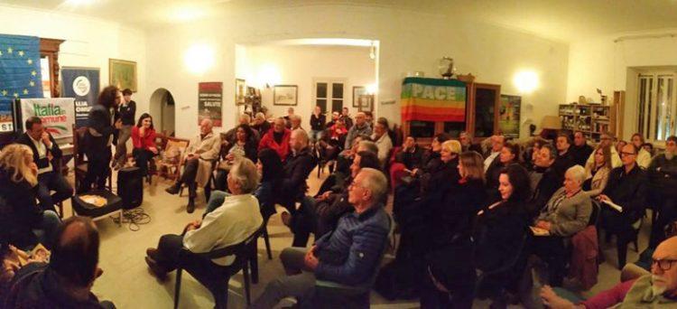 Europee, grande pubblico per l'incontro con Travaglini, Monteverde e Pascucci