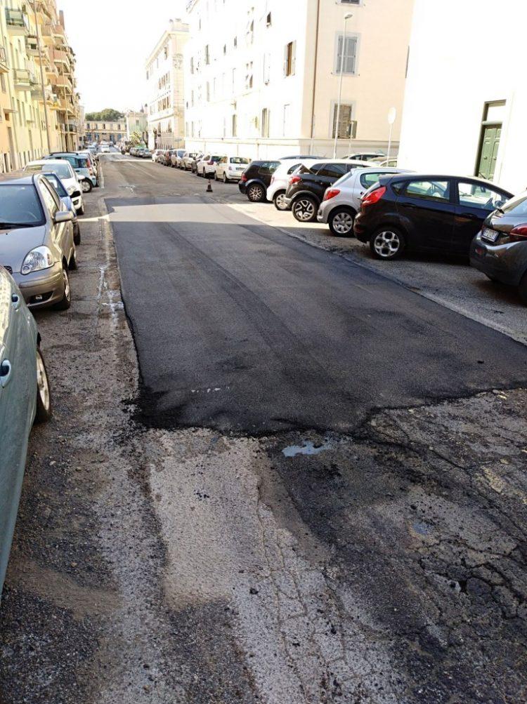 Asfaltatura delle strade, critico Codici