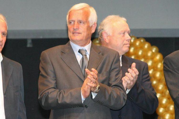 Franco Superchi alla festa dell'Hellas Verona