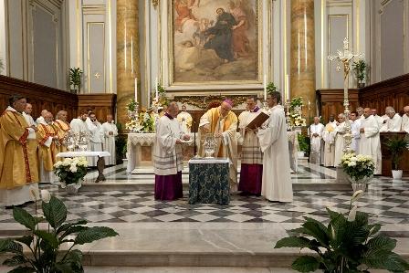 Iniziati i riti della Settimana Santa con il vescovo Marrucci