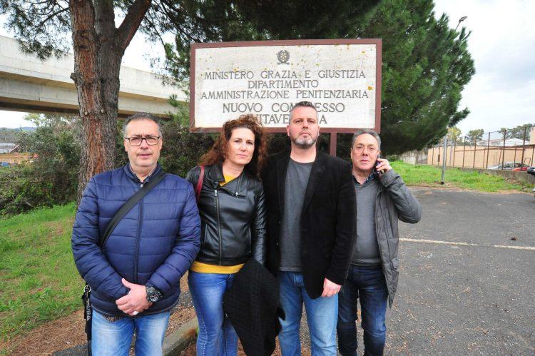 Carcere, i vertici della Cgil in visita al Nuovo complesso di Aurelia