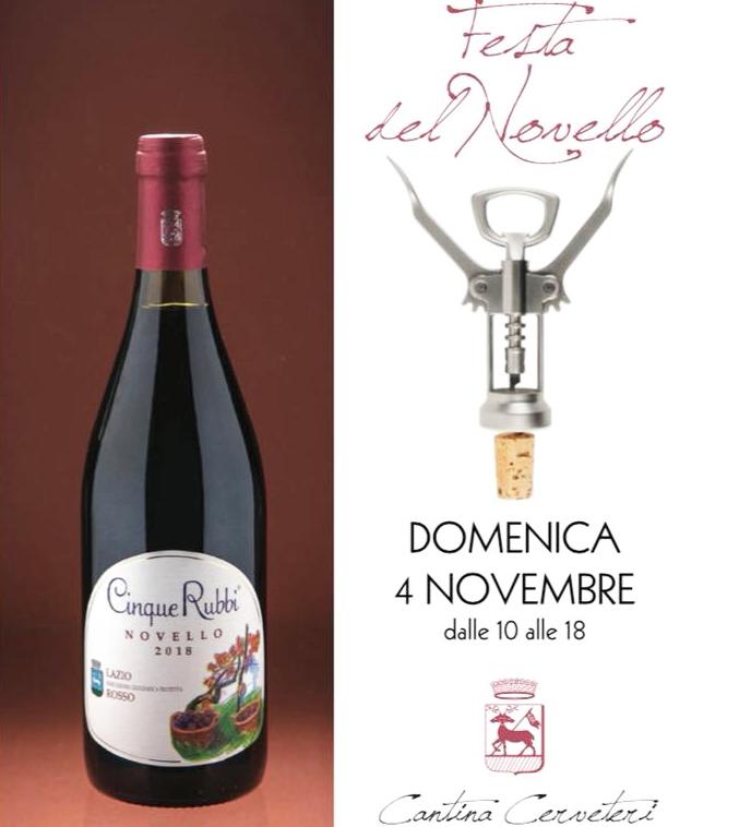 Oggi festa del vino novello