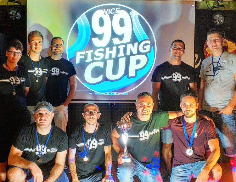 Fishing Cup: premiati i partecipanti