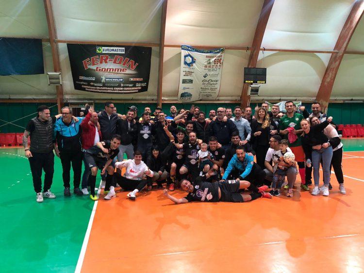 Il Real Fiumicino Futsal Isola torna nella massima serie regionale