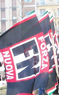 Marcia di Forza Nuova contro Montino