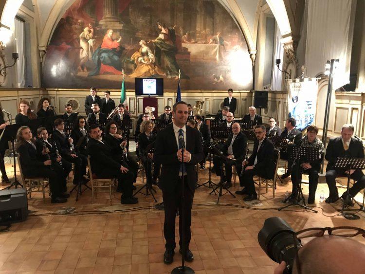 Storico concerto della banda di Allumiere alla Camera dei Deputati