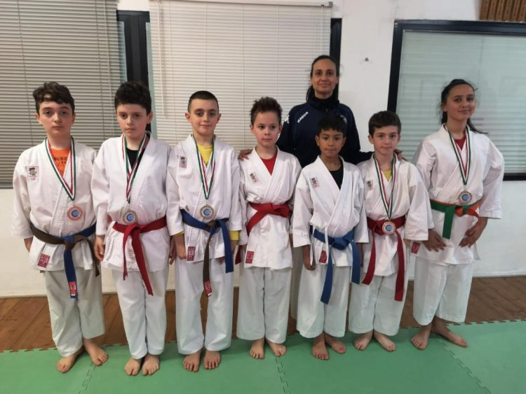 Sette atleti e sette podi: la Mabuni Club fa en plain