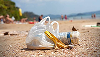 """In spiaggia dieci rifiuti ogni metro"""