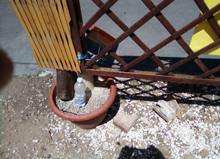 Un mattone e dei sassi lanciati dal parco della Legnara: per fortuna nessun ferito