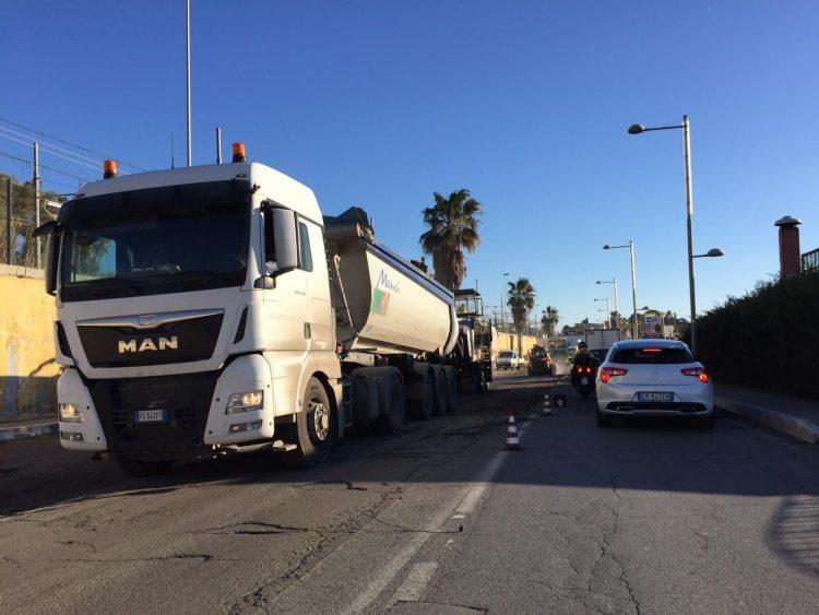 Manutenzione stradale, polemica sui lavori