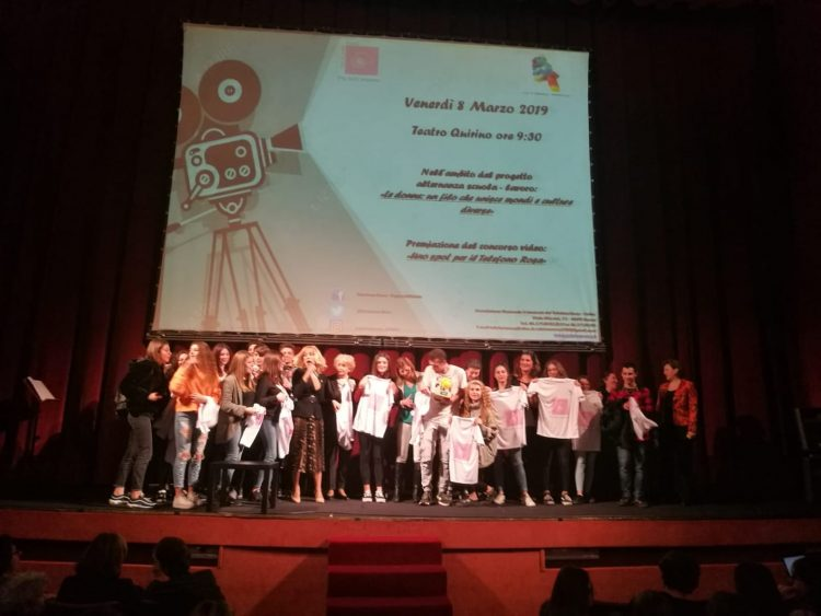 Uno spot per il telefono rosa: primo premio per gli studenti del Cardarelli di Tarquinia
