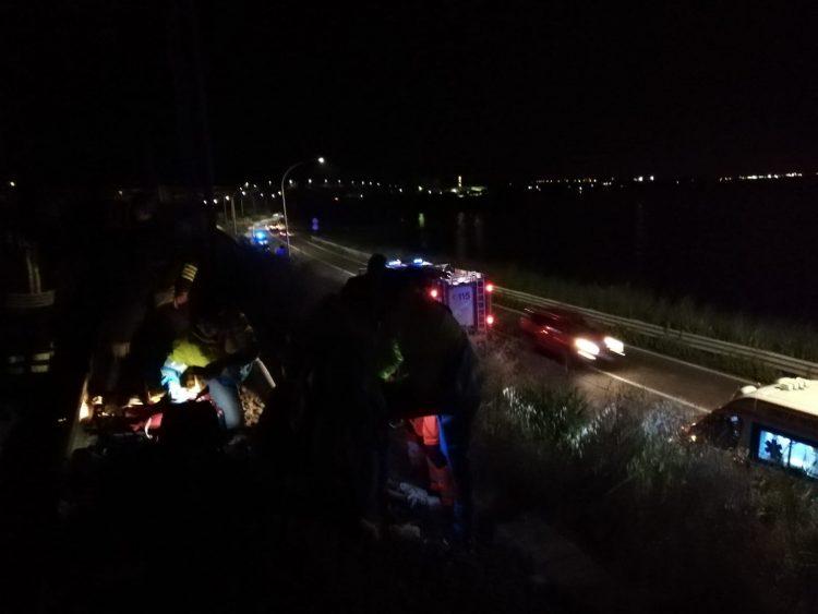 Santa Marinella, incidente ferroviario nella notte: è codice rosso
