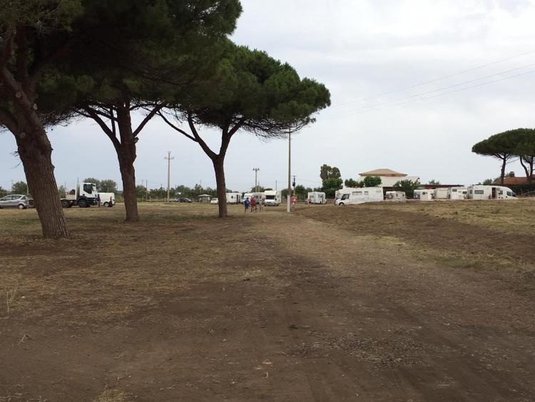 Tarquinia, aperto il parcheggiosulla strada delle Saline