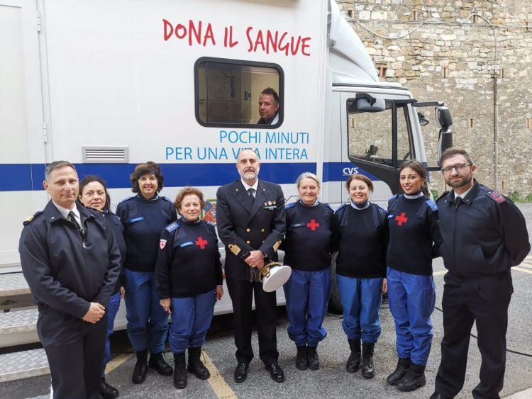Dona il sangue, anche la Guardia costiera aderisce all'iniziativa Cri