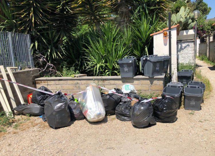 Controllo rifiuti: 11 sanzioni e due denunce penali