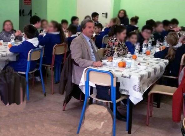Santa Marinella, il sindaco Tidei in visita alla media Carducci