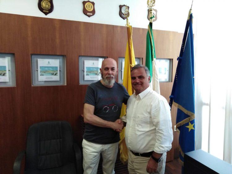 Primo giorno al Pincio per il segretario generale Pompeo Savarino