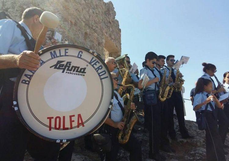 A Tolfa il concerto dei maestri della banda Verdi