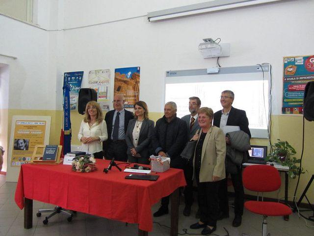 Inaugurata all'IIS Cardarelli la rete di scuole intitolata a Giovanni Falcone
