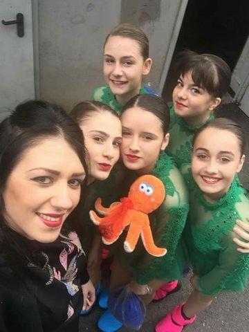 Le ragazze della dance World sul podio
