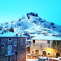 Neve in collina: chiuse le scuole