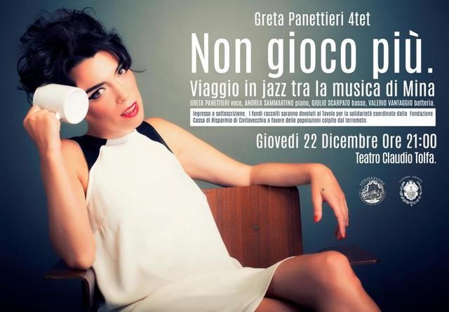 Grande attesa per il concerto di Greta Panettieri