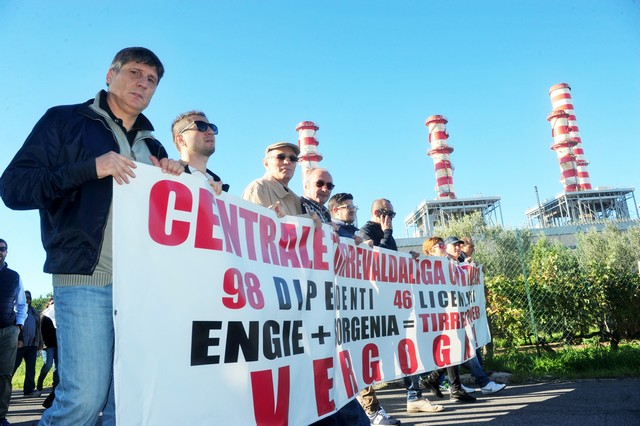 Tirreno Power: accordo per i 181 esuberi