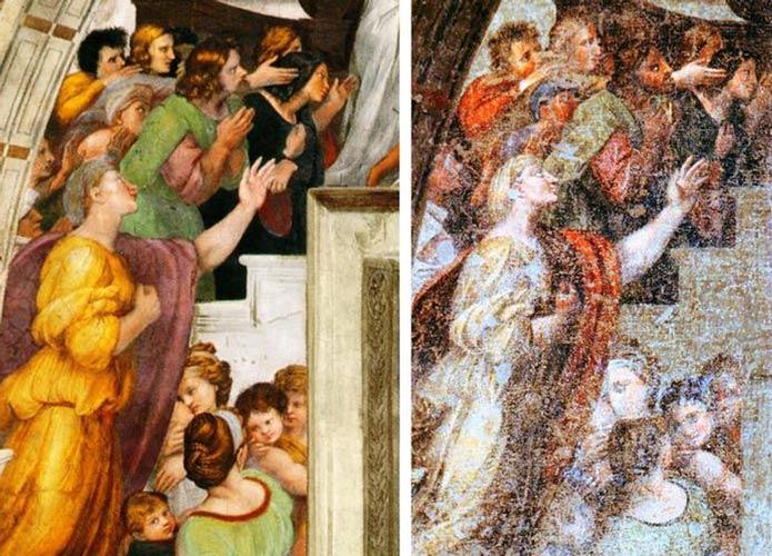 Le immagini degli affreschi di De Paolis fanno il giro del mondo