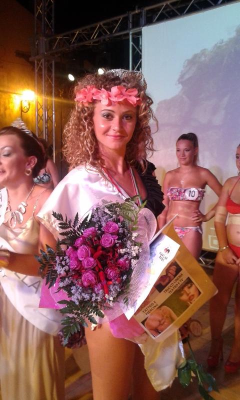 Ludovica Mancinelli è Miss Santa Marinella