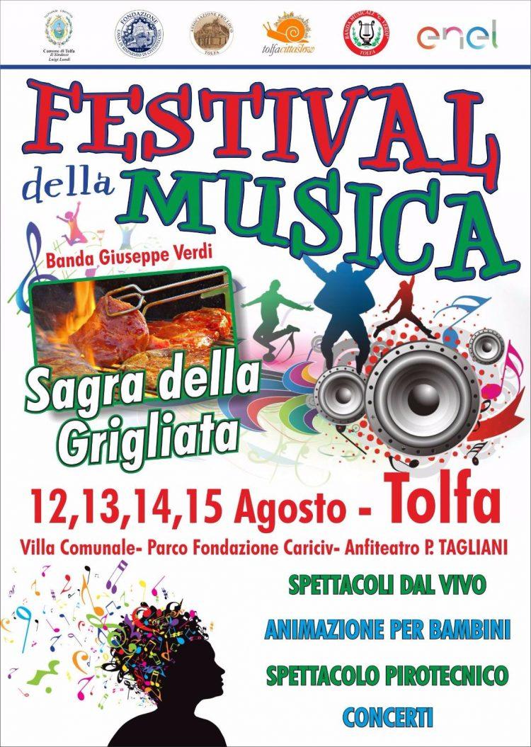 Al via il ''Festival della Musica e Sagra della Grigliata''