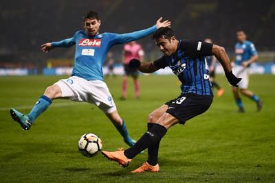 L'Inter ferma il Napoli