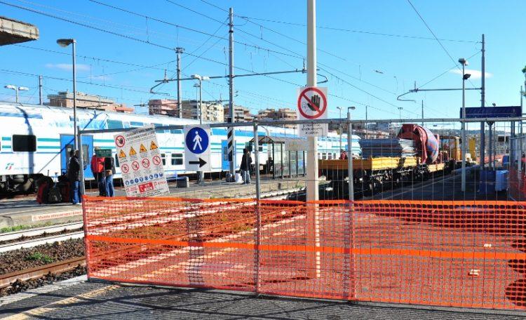 Stazione ferroviaria: proseguono i lavori
