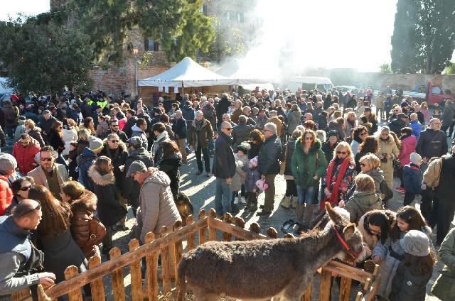 Sant'Antonio: ai festeggiamenti anche Alice Sabatini