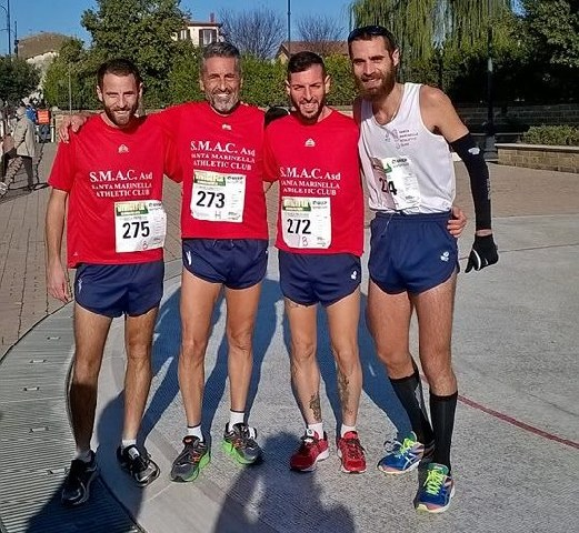 Smac sugli scudi: Azzarelli 6° assoluto alla mezzamaratona di Gela