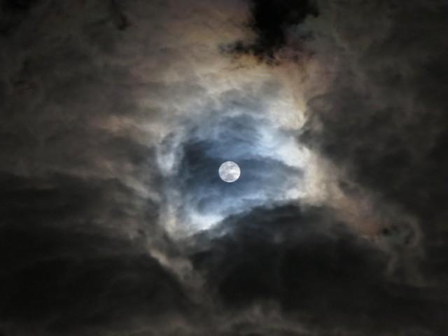 Superluna (foto Giuseppe Paterno)