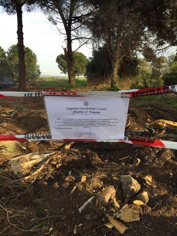 Tarquinia, incendio boschivo e combustione illecita di rifiuti: arrestati