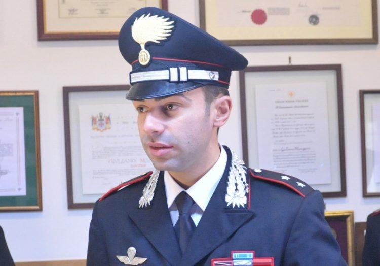 Il tenente Antimo Ventrone lascia Civitavecchia