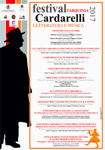 Il Festival Tarquinia Cardarelli entra nel vivo