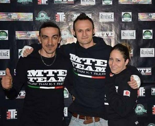 Emanuele Feoli di scena alla tappa degli Italiani Wtka