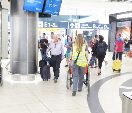 Servizio disabili treno-aereo, impatto positivo